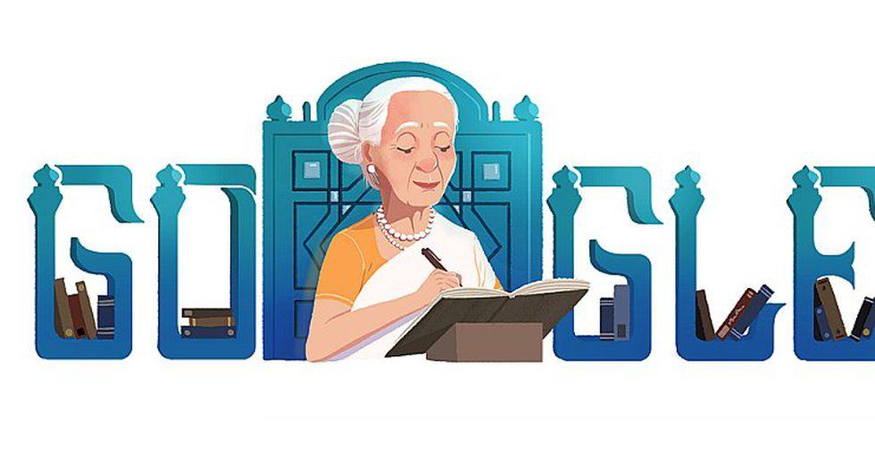 Google celebra el 88° aniversario del nacimiento de Fatima Surayya Bajia