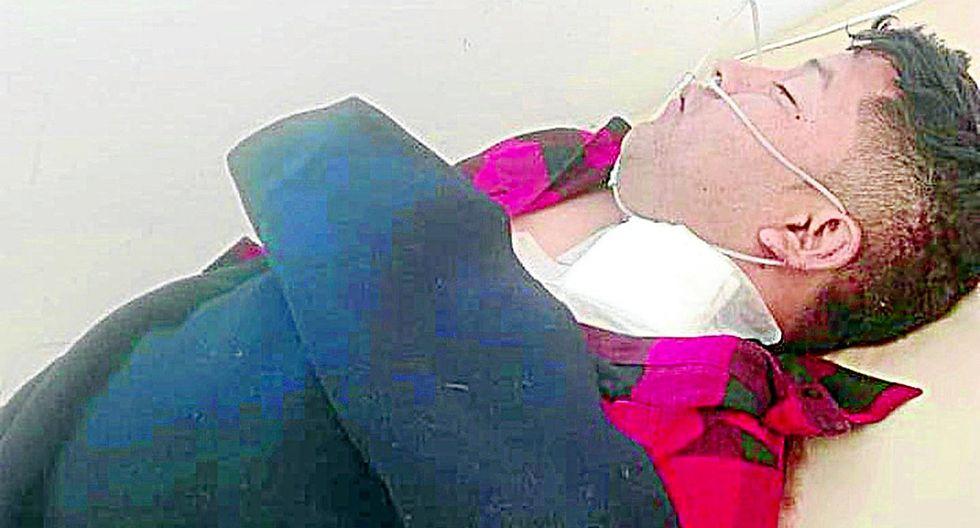 Un chofer es atacado a botellazos por presunta rivalidad política