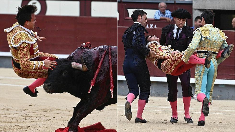 Torero español queda grave tras sufrir tremenda cornada en la ingle