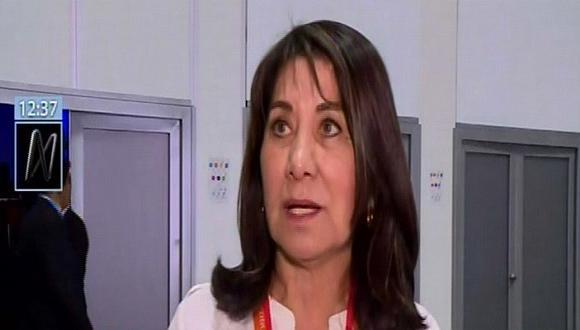 Martha Chávez: ¿En qué país estamos, donde el empresario teme ser transparente?