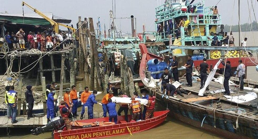 Malasia: Catorce inmigrantes mueren en naufragio de barco