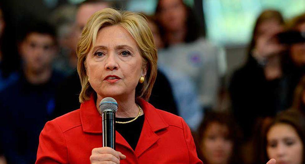 Hillary Clinton se mostró en contra del Acuerdo de Asociación Transpacífico