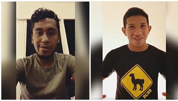 Perú vs Brasil: Renato Tapia y Edison Flores alientan a la blanquirroja así (VÍDEO)