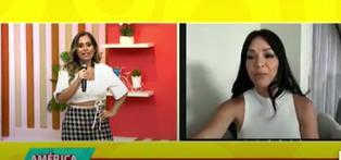 Sheyla Rojas reapareció en televisión desde México y muestra renovado look (VIDEO)