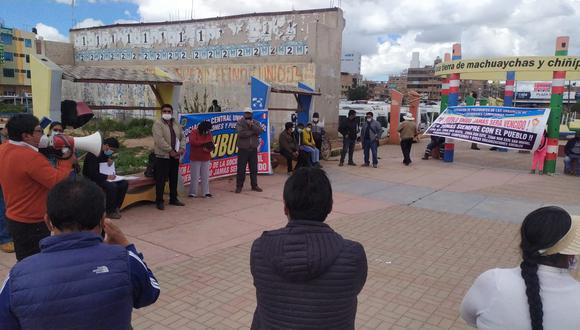 Dirigentes barriales protagonizaron discrepancias respecto a varios temas. (Foto: Feliciano Gutiérrez)