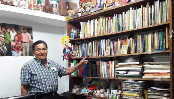 Juan Becerra, director de la revista Libertad, falleció hoy por falta de camas UCI en el hospital de Alta Complejidad.