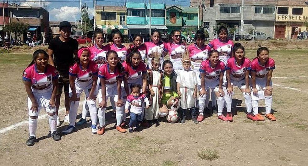 Sport Vilcas lidera tabla de posiciones en fútbol femenino