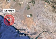 Sismo registrado en Camaná causó alarma en Arequipa