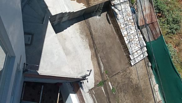 Aniego por quinto día consecutivo en zona residencial del distrito de Cayma