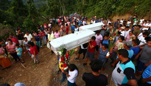 La masacre en el Vraem ocurrió en San Miguel del Ene el pasado 23 de mayo. (Foto: Alessandro Currarino / @photo.gec)