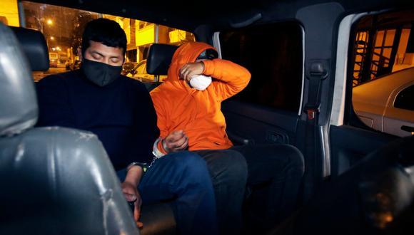 Detienen a dos personas en Surquillo en reunión clandestina durante la madrugada. (Foto: César Grados / GEC)