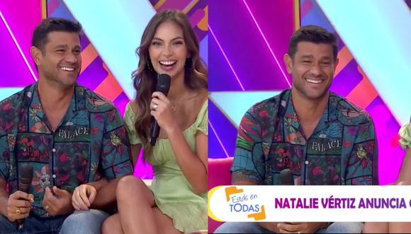 """Yaco Eskenazi se quebró por segundo embarazo de Natalie Vértiz: """"Me estoy aguantando las lágrimas"""" (VIDEO)"""