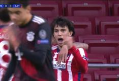 Joao Félix convirtió gol y puso el 1-0 para el 'Aleti' ante Bayern Múnich (VIDEO)