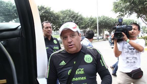 """Técnico de México sobre Perú: """"Jugaremos ante un equipo renovado"""""""