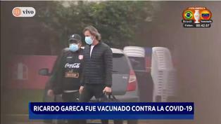 Copa América Brasil 2021: Ricardo Gareca recibió vacuna contra el coronavirus