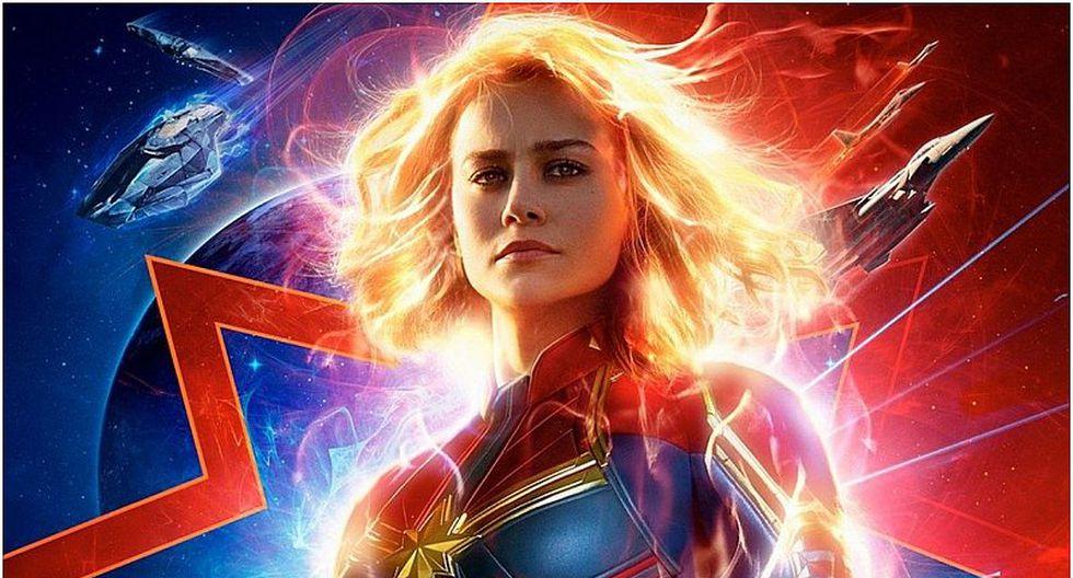 Capitana Marvel: filme protagonizado por Brie Larson es el más visto en lo que va del año en Perú