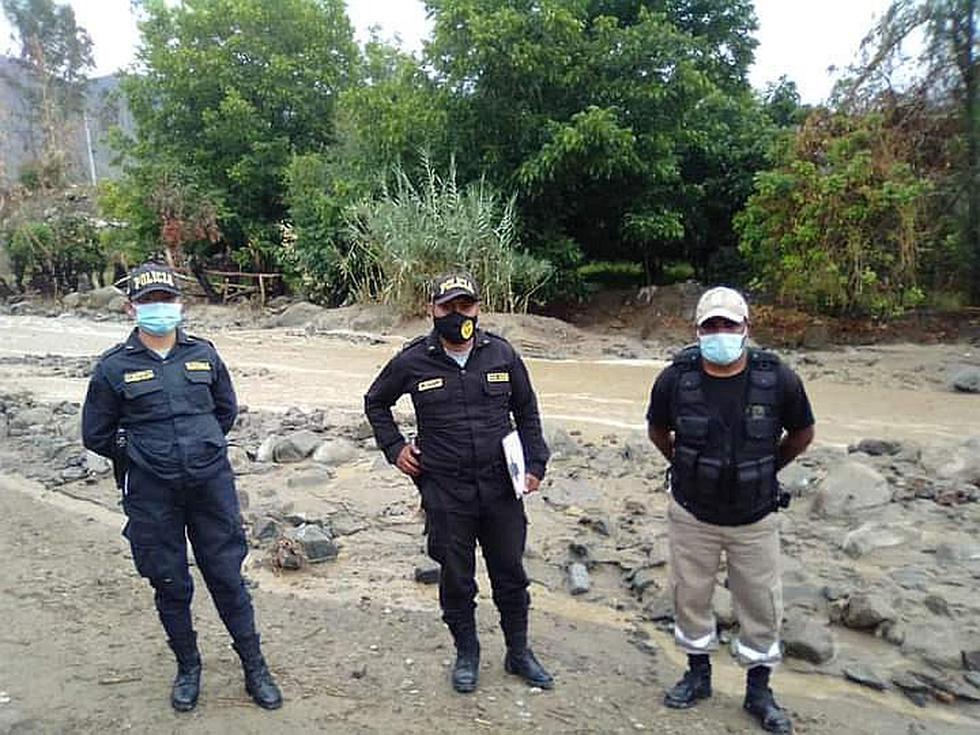 Ica: Lluvias provocan la caída de huaico en Los Molinos