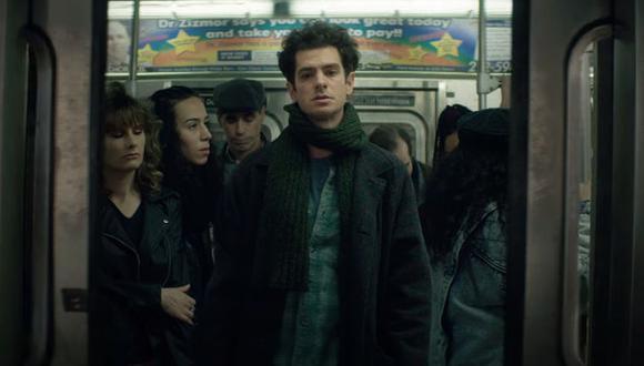"""Andrew Garfield protagoniza  """"Tick, Tick... Boom!"""", este musical de Netflix que marca el debut de Lin-Manuel Miranda como director en el cine. (Foto: Captura de video)"""