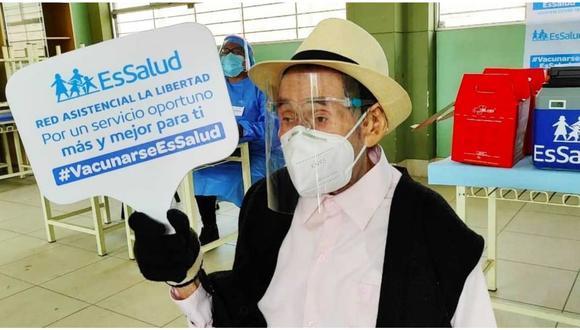 Se trata del exagricultor Fidel Terrones Tafur, atendido por EsSalud en el distrito de La Esperanza.