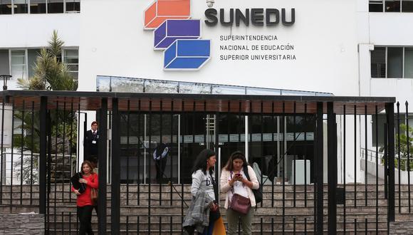 Sunedu. Foto: Manuel Melgar / Archivo