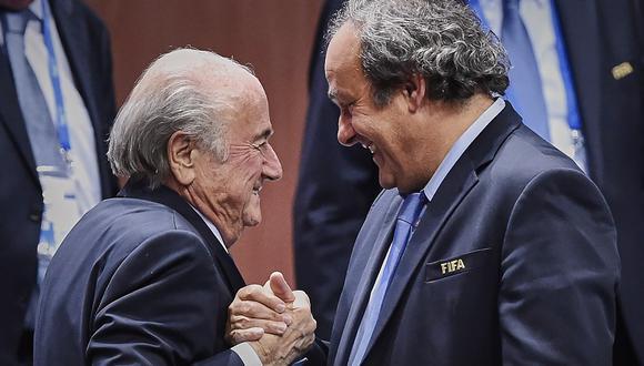 Joseph Blatter -Michel Platini: ¿una batalla en la que todo vale?