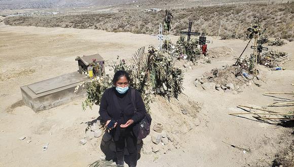 Prohíben entierros clandestinos en terreno de Cayma