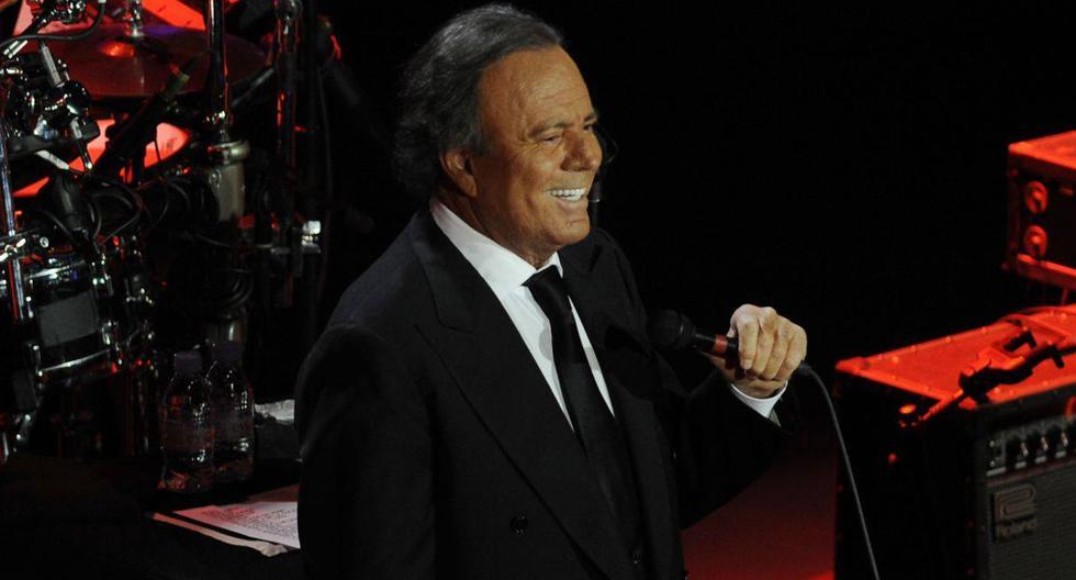 Julio Iglesias cumple 77 años y planea una gira para el 2021 (VIDEO)