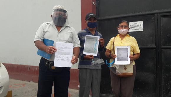 Habitantes de Pueblo Libre llegaron hasta gerencia de Ingeniería y Obras. (Foto: Diario Correo)