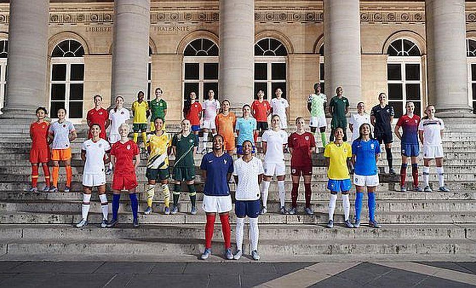Las futbolistas jugarán con su propio diseño de camisetas por primera vez en Copa Mundial Femenina