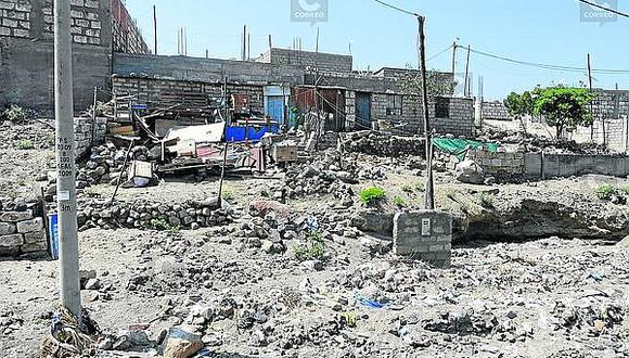 Cayma: 200 viviendas fueron construidas en cauces de torrenteras