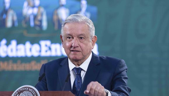 Andrés Manuel López Obrador anunció que superó el coronavirus. (Foto: Presidencia de México / AFP)