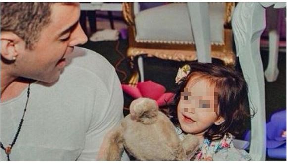 Sebastián Lizarzaburu ve a su hija después de tres meses (FOTO)