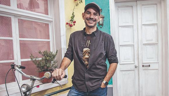 """Ricardo Morán: """"Me cuesta repetir en papel lo que vemos día a día en la calle"""""""