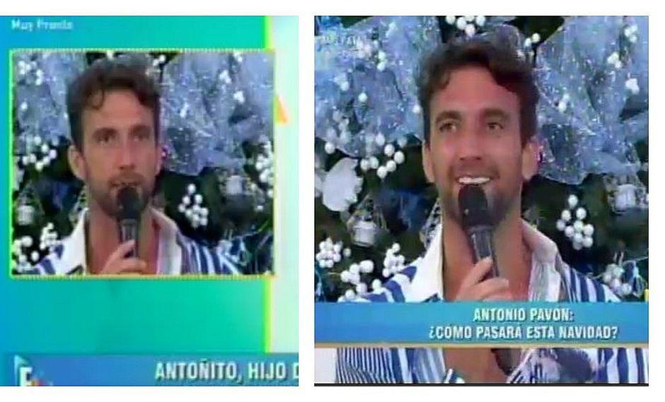 Antonio Pavón se quiebra tras recibir sorpresa de su hijo (VIDEO)