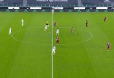 Cristiano Ronaldo sorprendió con inusual manera en la que buscó el gol (VIDEO)