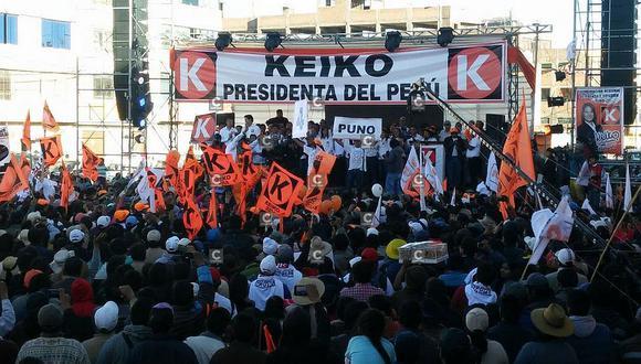 Fuerza Popular logró 73 curules en el Congreso