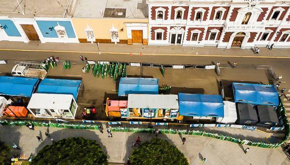 La Municipalidad Provincial de Trujillo puso a disposición plataforma virtual en la que registrarán todos los requerimientos. (Foto: Randy Reyes)