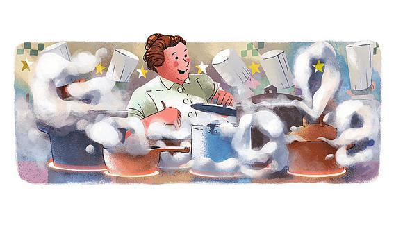 Google celebra el 123º aniversario del nacimiento de Eugénie Brazier