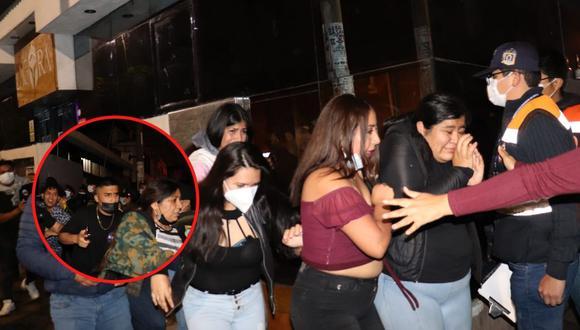 Se encontraban bailando y libando licor sin temor al contagio del nuevo coronavirus (COVID-19). (Foto: Municipalidad Provincial de Trujillo)