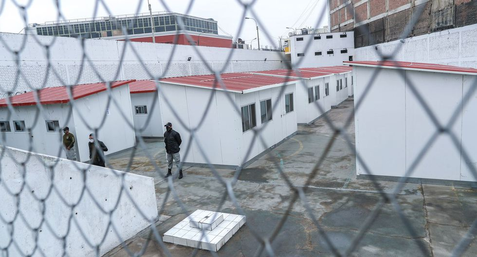 El Centro de Aislamiento Temporal de Lima (ex penal San Jorge) cuenta con 21 módulos. (Foto: Andina)