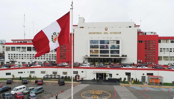 Ministerio del Interior (Foto: Andina)