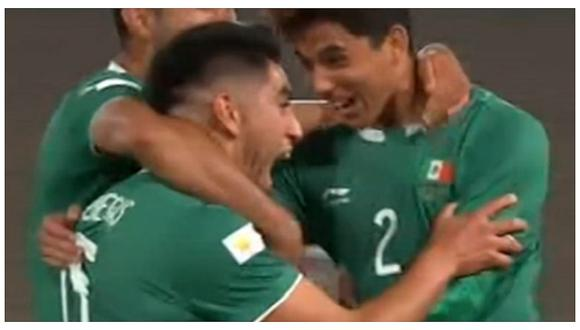 México vs Honduras: Francisco Venegas anotó golazo de media cancha en Lima 2019 (VIDEO)