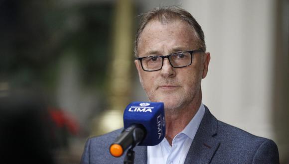 LUNES 25 DE NOVIEMBRE DEL 2019El alcalde de Lima, Jorge Muñoz, se pronunció respecto a los hechos registrados hoy, como consecuencia del paro acatado por conductores informalesFOTOS: RENZO SALAZAR