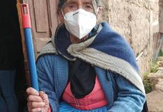 Por fin, abuelitos serán vacunados contra el COVID-19 en Huancavelica