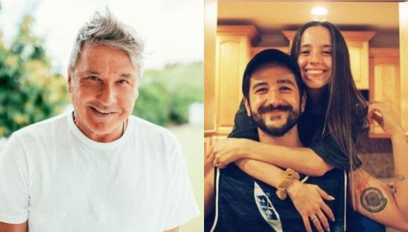 Ricardo Montaner celebró el embarazo de su hija Evaluna. (Foto: Instagram)