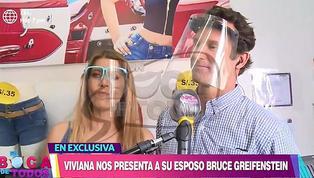 Viviana Rivasplata presentó a su esposo norteamericano Bruce Greifenstein