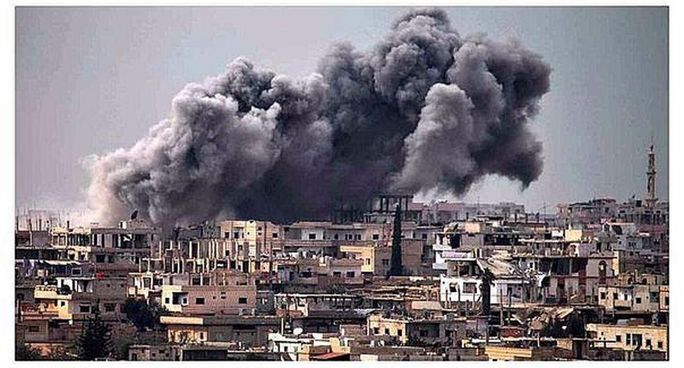 Siria: más de 30 muertos en ataque de coalición liderada por EE.UU. contra un colegio