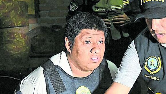 José Manuel Arévalo Oyola fue procesado tras herir a balazos al policía Jhonny Sahel Casancho Cuba durante un operativo.