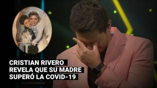 """""""Yo soy"""": Cristian Rivero cuenta con emoción que su mamá se recuperó de la COVID-19"""