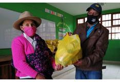 Qali Warma reparte 1,591 toneladas de nutritivos alimentos durante sexta entrega de productos en La Libertad